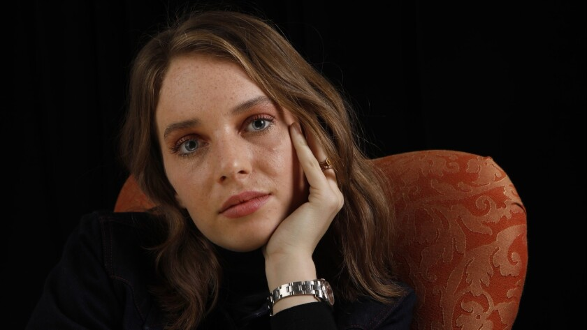 """PASADENA, CA January 16, 2018: Portrait of Maya Hawke. She is part of the cast of PBS' """"Little Wom"""