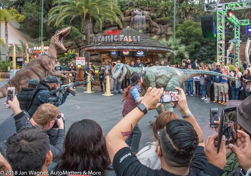 01656-20180511 Jurassic Park 25th Anniversary Celebration at Universal Studios Hollywood CA & iPhone X audio + CityWalk-D5