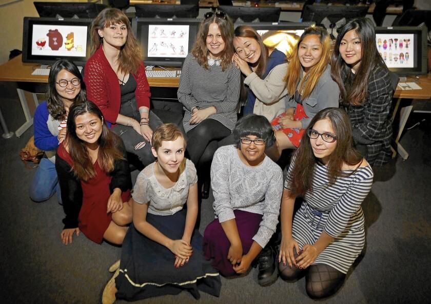College Animation Women