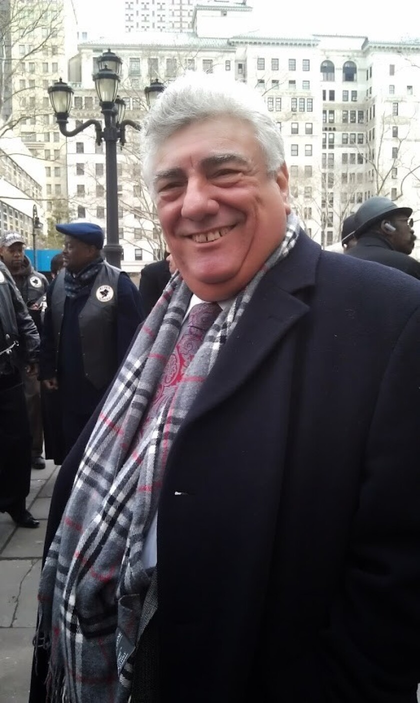 Brooklyn Democratic County Committee party boss Frank Seddio