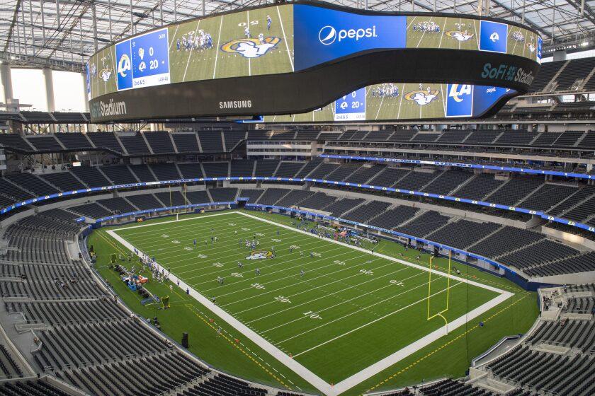 Palace Preview Rams Marvel At 1st Trip To New Sofi Stadium The San Diego Union Tribune