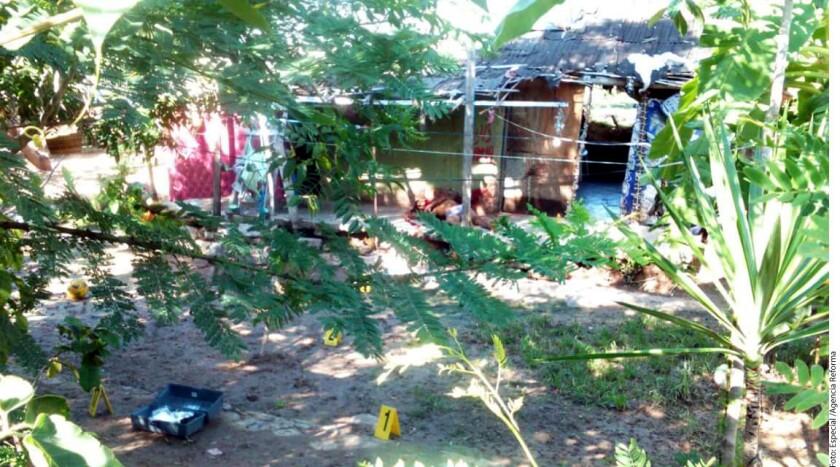 Siete integrantes de una familia fueron ejecutados en el Municipio de Tepecoacuilco, en la región norte de Guerrero.