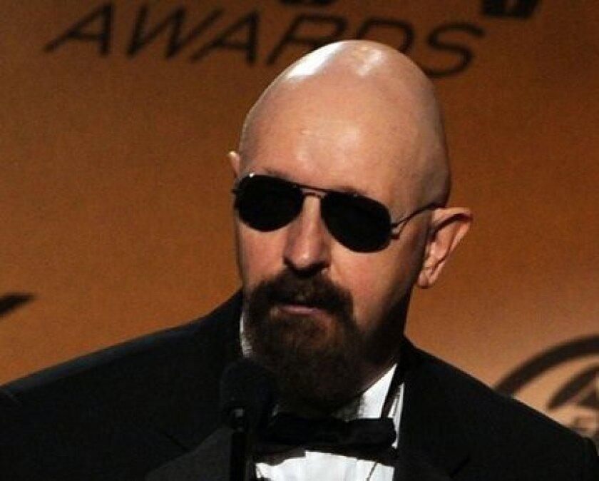 Rob Halford of Judas Priest.