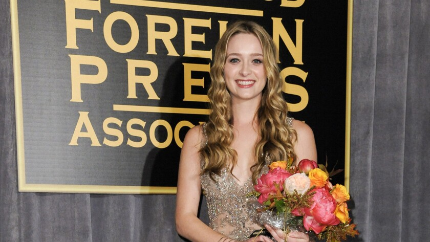 """""""I'm a really huge fan of TV,"""" said Miss Golden Globe 2015 Greer Grammer. """"My dad [Kelsey Grammer] was on a great TV show. And I've always loved how much fun you can have on TV."""""""