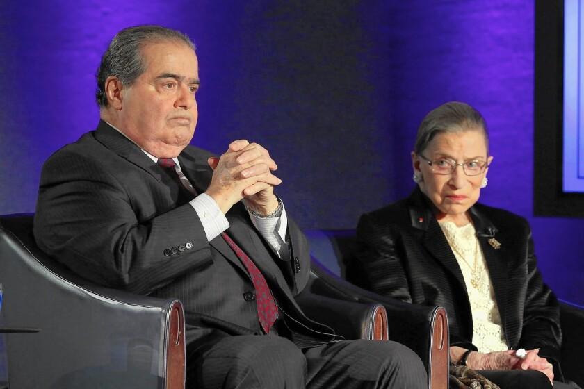 Scalia and Ginsburg