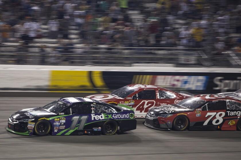 Hamlin, Larson and Truex seem to be driving for momentum