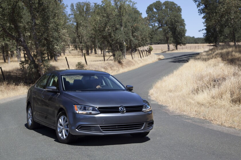 The Jetta TDI is one of Volkswagen's increasingly popular diesel offerings. (Volkswagen)