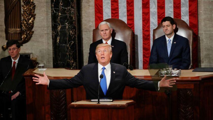 Donald Trump, Mike Pence, Paul Ryan