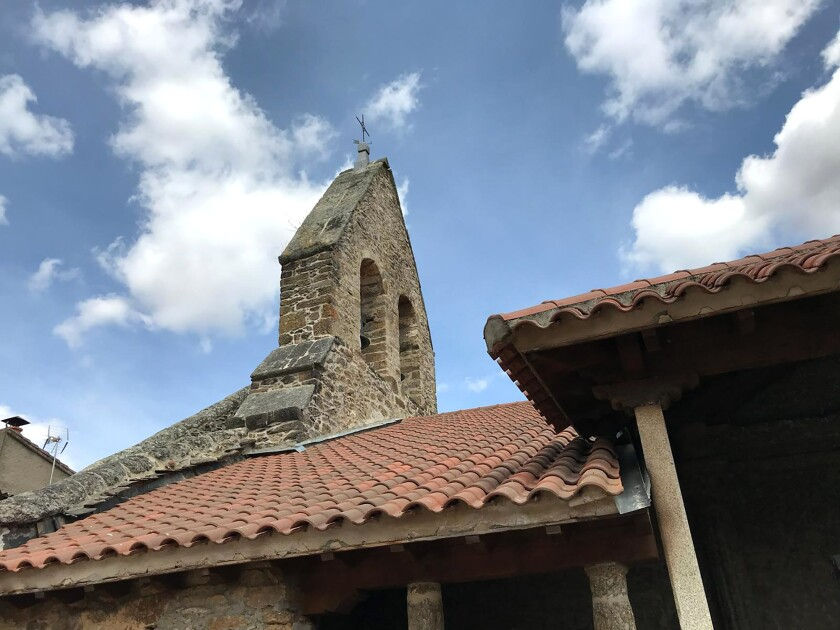 Church in Valparaiso, Spain