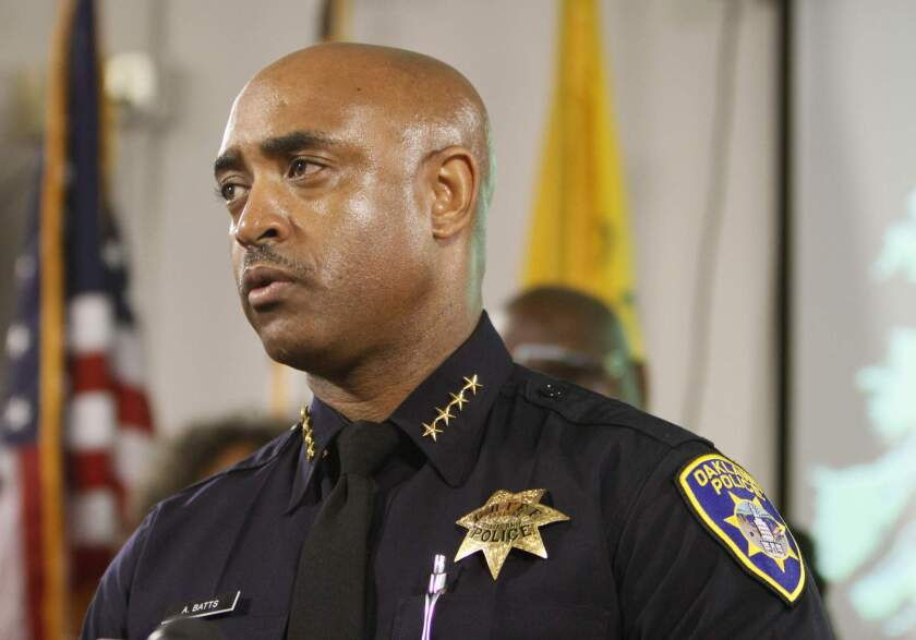 Baltimore Police Commissioner Anthony Batts in 2010, when he was chief of police in Oakland.