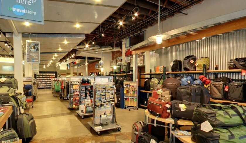 Le Travel Store, which opened in Pacific Beach in 1976 and has been in San Diego's Gaslamp Quarter for 19 years, is closing its doors.