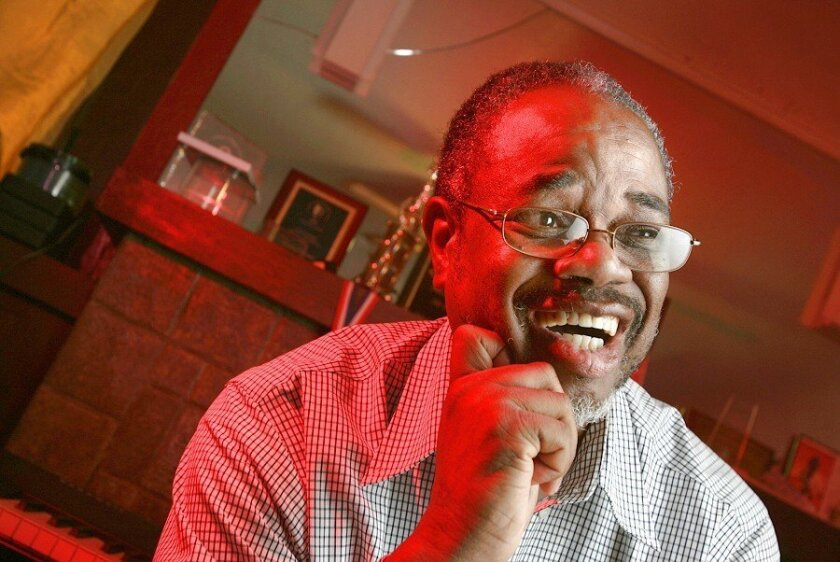 The man just likes to keep busy: Calvin Manson, who runs the Ira Aldridge Repertory Players, also manages the doo-wop singing group the Choice Entertainers. Almost forgot: He also writes plays in his spare time.