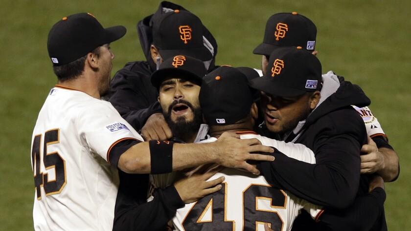 Giants celebrate