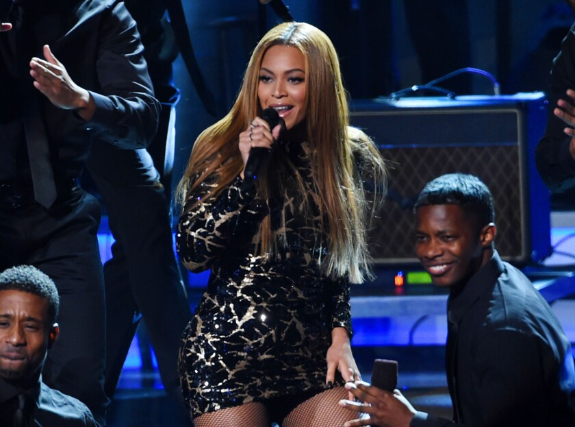 "Beyoncé performs at ""Stevie Wonder: Songs in the Key of Life - An All-Star Grammy Salute, "" at the Nokia Theatre L.A. Live in Los Angeles."