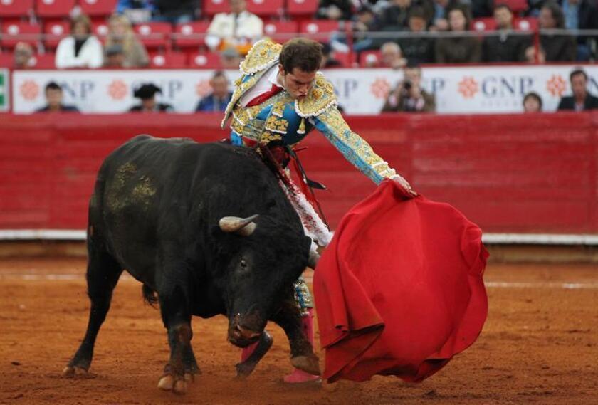 El torero Méxicano Arturo Saldivar. EFE/Archivo