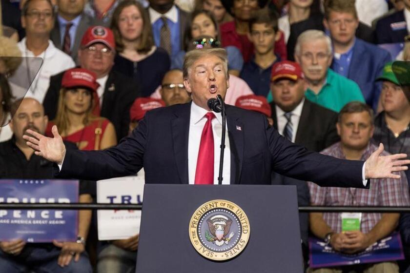 El presidente de EE.UU., Donald Trump. EFE/Archivo