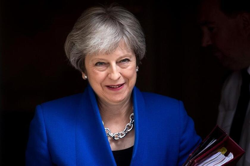 British Prime Minister Theresa May. EFE/EPA/Archivo