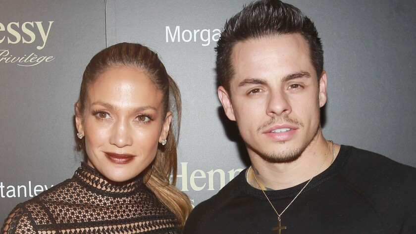 Jennifer Lopez and Casper Smart, pictured in July 2016, started dating in 2011.