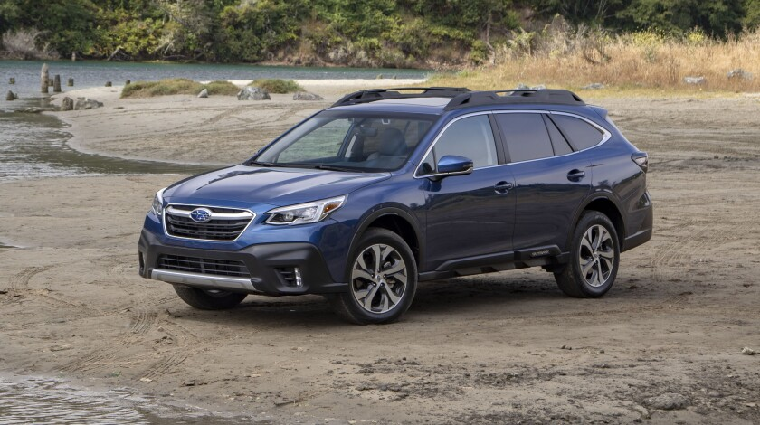 The sixth-generation Outback went on sale in August, and Subaru says the new look is connecting with consumers.
