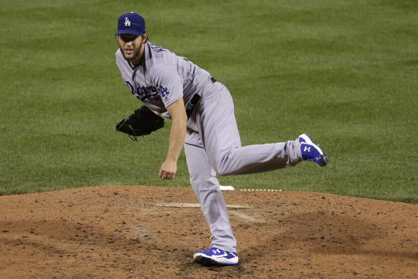 A back injury has sidelined Dodgers ace Clayton Kershaw.