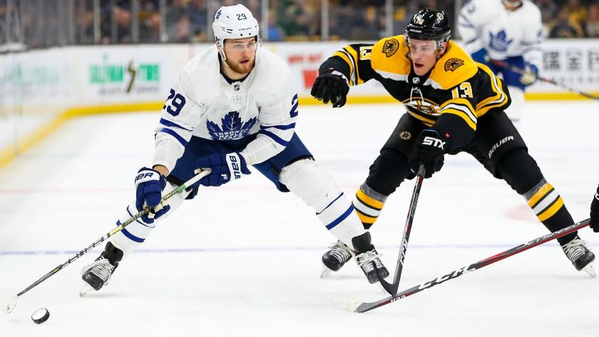 Toronto Maple Leafs v Boston Bruins - Game One