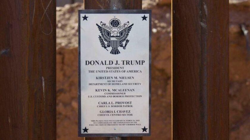 Calexico border fence