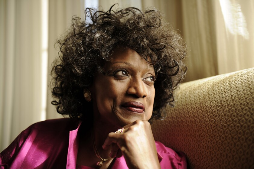 Jessye Norman photographed in 2011 in Pasadena.