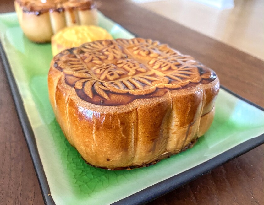 Mooncakes from Kee Wah Bakery in San Gabriel.