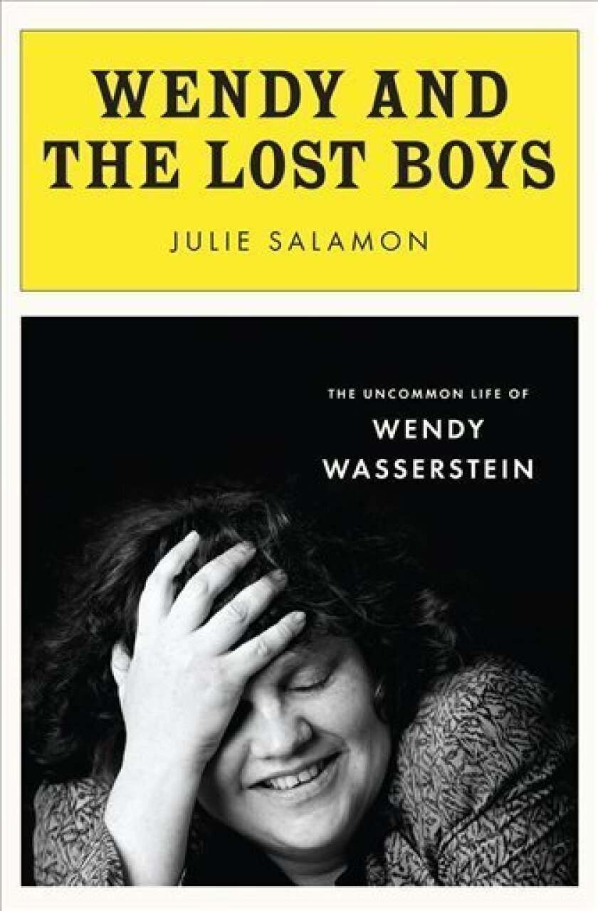 "In this book cover image released by The Penguin Press, ""Wendy and the Lost Boys: The Uncommon Life of Wendy Wasserstein,"" by Julie Salamon, is shown. (AP Photo/The Penguin Press)"