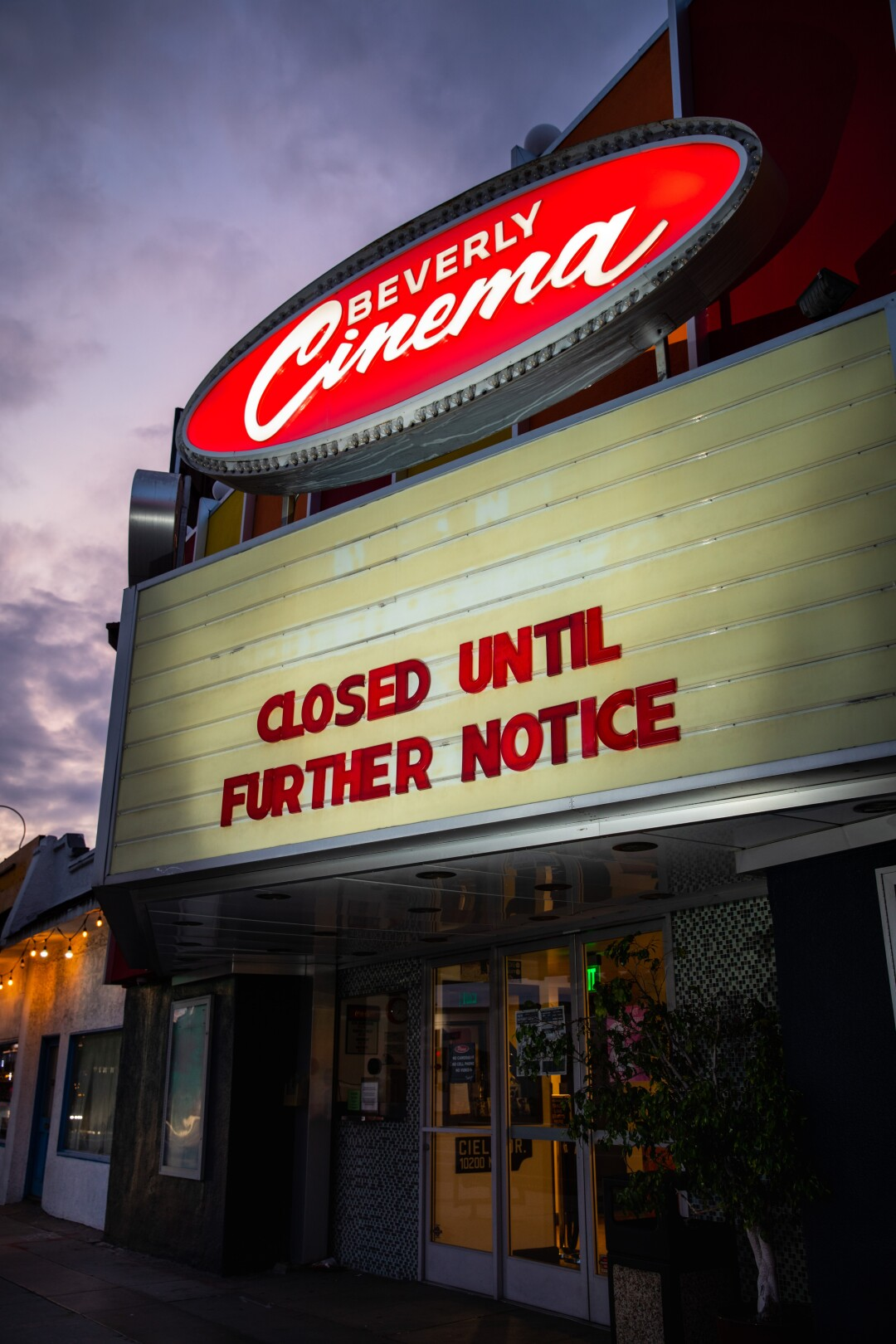 The New Beverly Cinema