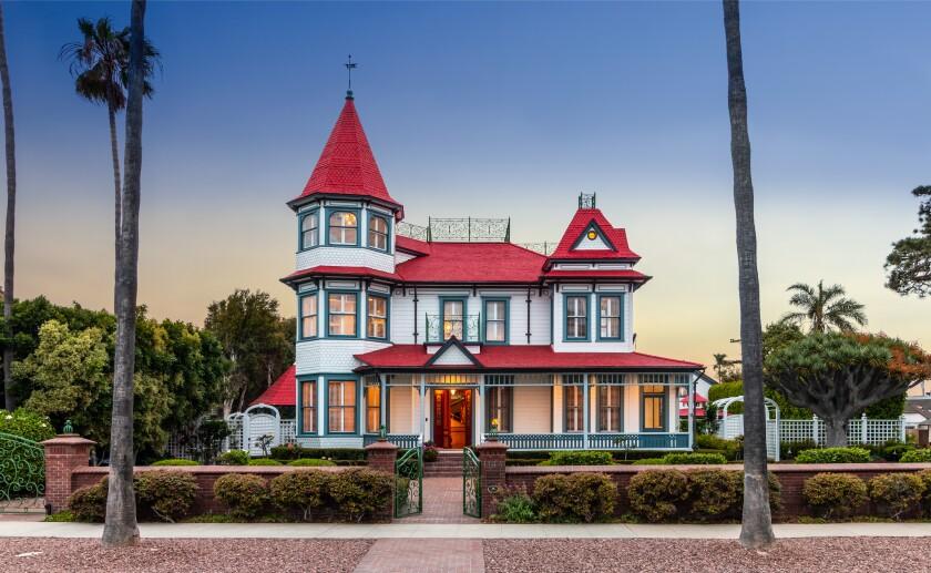 A Queen Anne Victorian on Coronado
