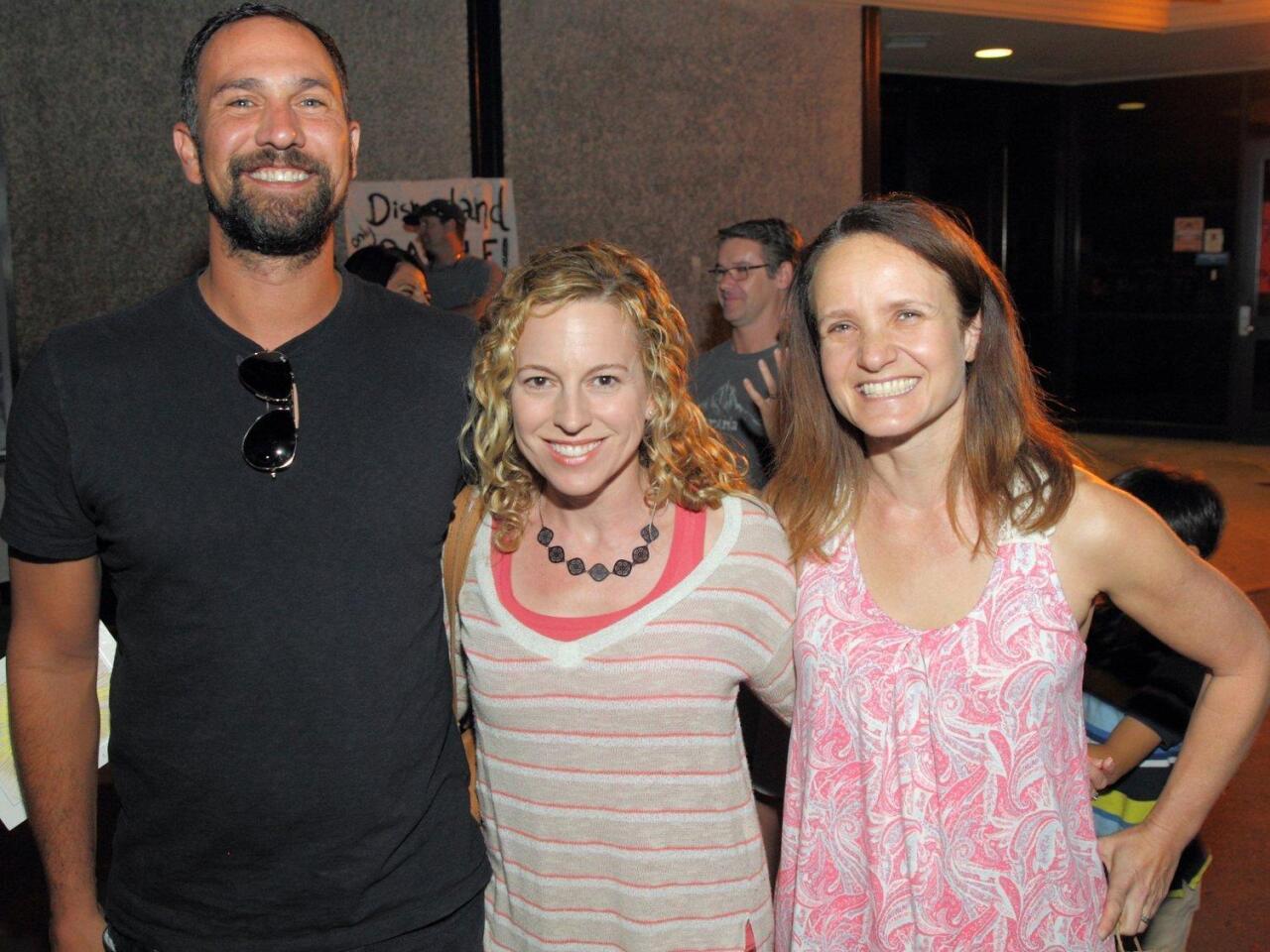 Marty Galan, Erica Halpern (School Board), Sonya Norman
