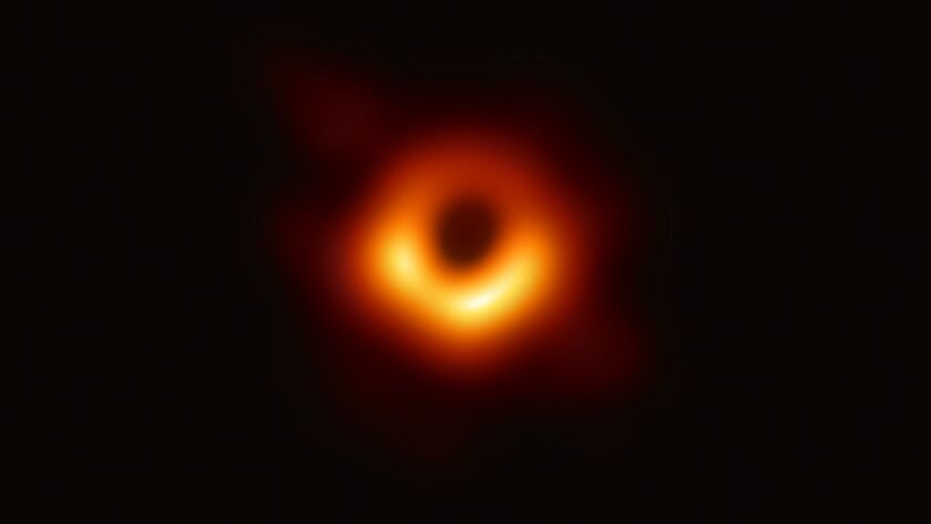 Here it is, the first-ever image of a black hole - Los