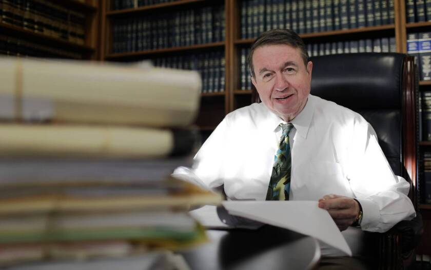 Los Angeles County Superior Court Judge William C. Ryan will decide requests by prisoners eligible to seek shorter sentences following the passage of Proposition 36.