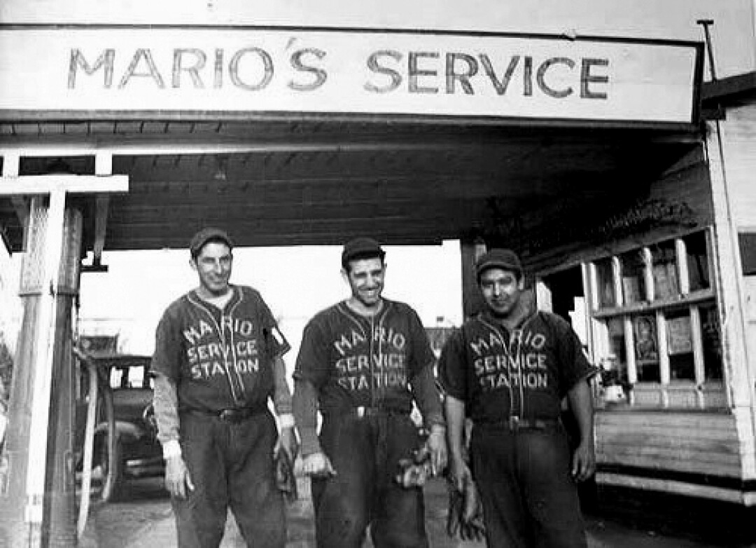 Members of the Mario Service Station team.