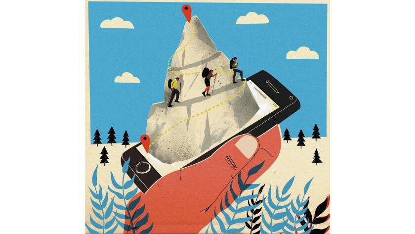 Apps for outdoor activities