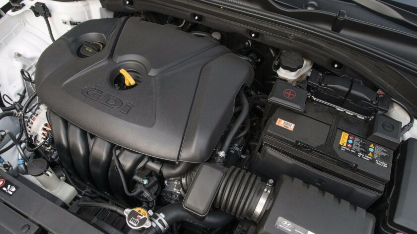 The base 162-hp 2.0-liter engine and six-speed automatic have fuel economy ratings of 24 mpg city, 3