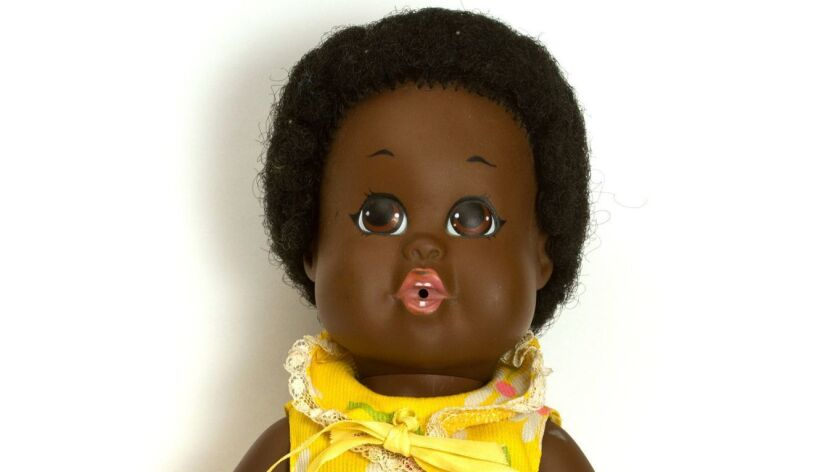 A 13-inch black doll named Baby Nancy made her American Toy Fair debut, which took place the week of March 2, 1969.