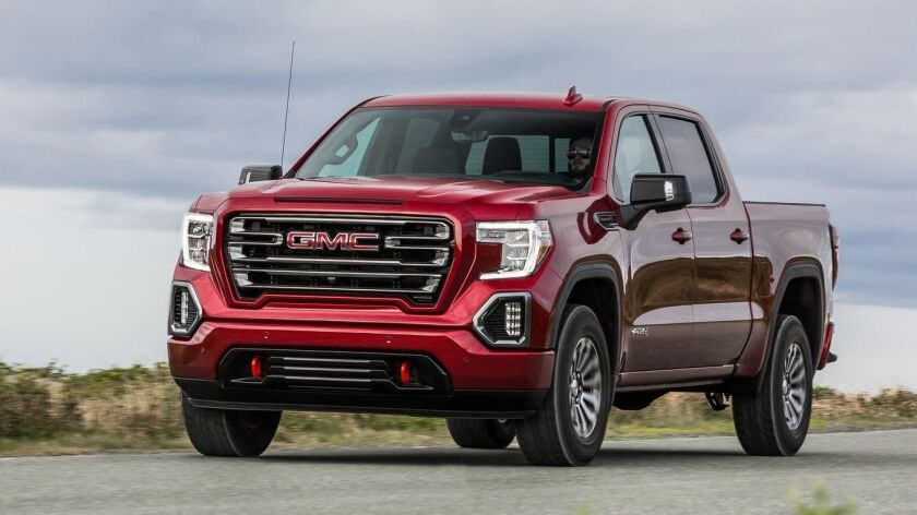 The Sierra AT4 has the tools for off-road functionality and will tow up to 12,100 pounds. It has payload capacity of 2,070 pounds.