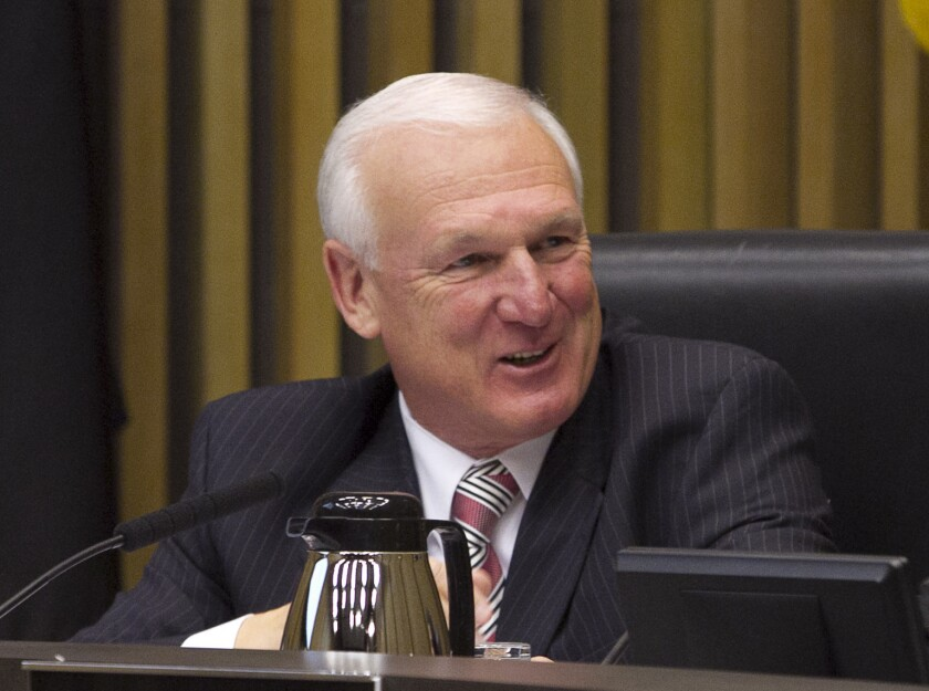 Ron Roberts was elected to the San Diego County Board of Supervisors in 1994.