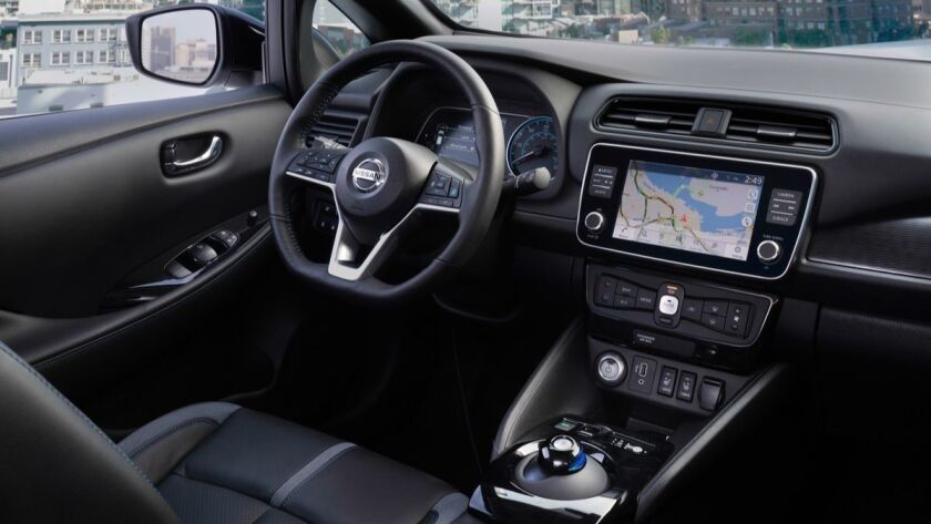 The new 2019 Nissan LEAF e+ has a 62 kWh battery pack and an EPA-estimated range of up to 226 miles.
