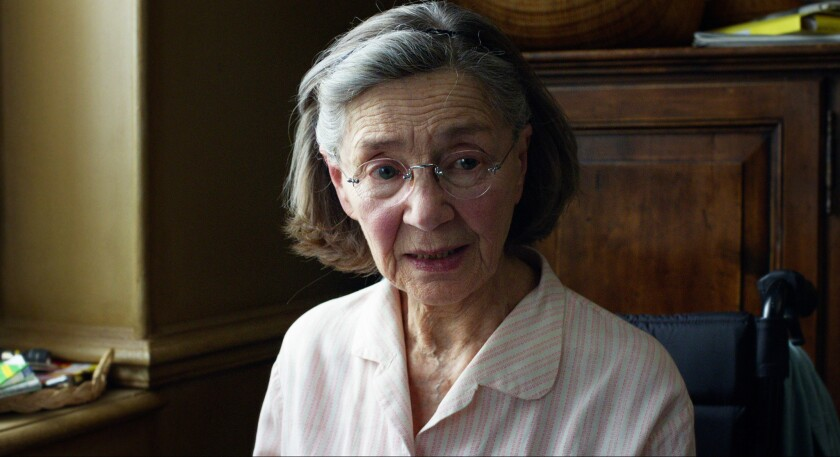"""Emmanuelle Riva was Oscar-nominated for her role in """"Amour"""" in 2013."""