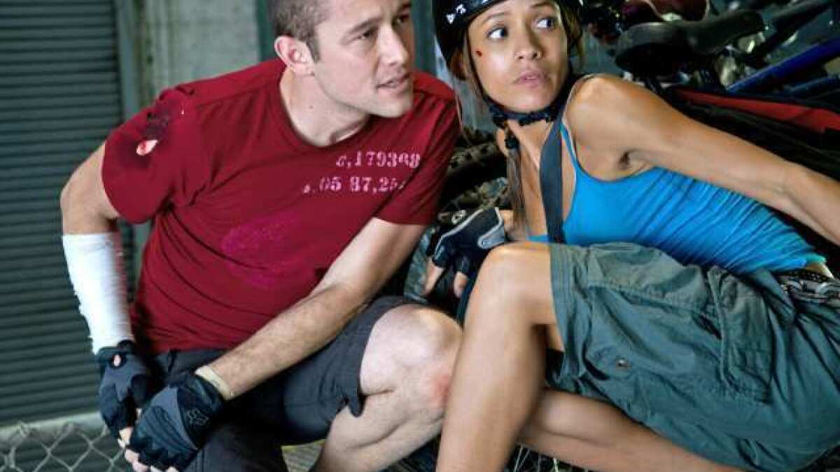 Film Review Plot Isn T The Point In Premium Rush Los Angeles Times