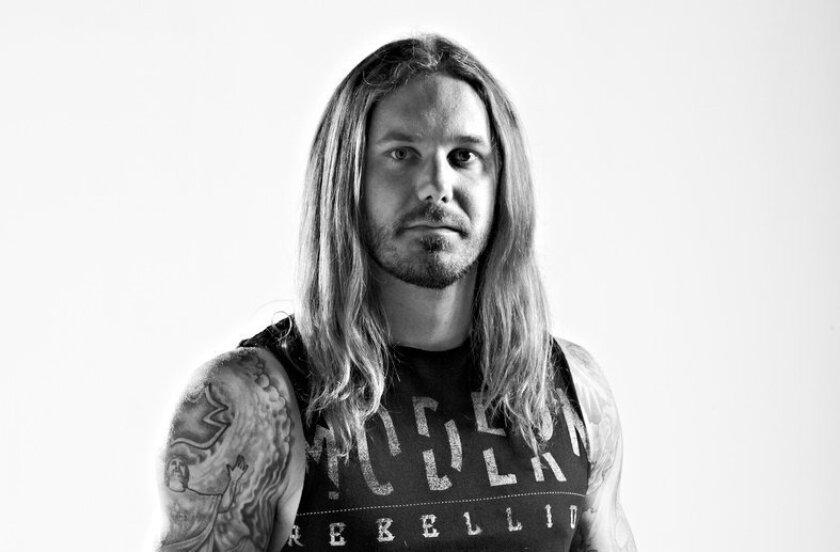 Timothy Lambesis, frontman for As I Lay Dying