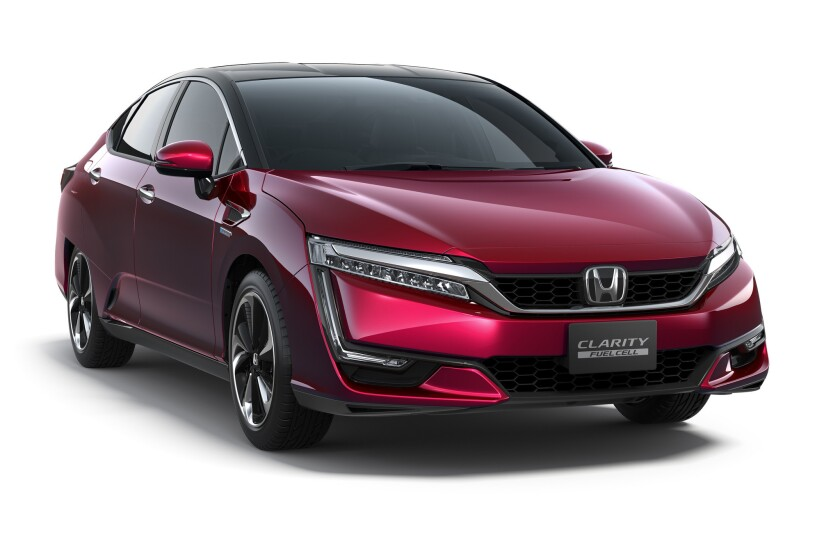 Honda has announced its new Clarity Fuel Cell sedan will be available for sale in late 2016 and retail at approximately $60,000.