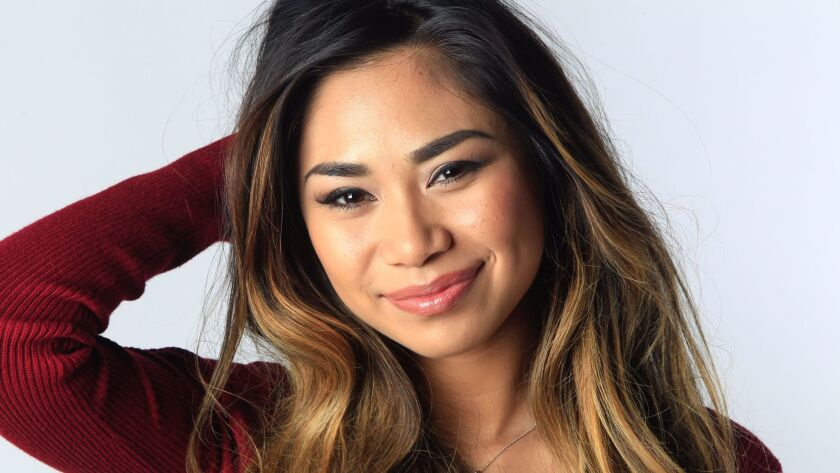 "Chula Vista-bred ""American Idol"" alum Jessica Sanchez engaged in social protest by taking a knee after singing the national anthem at Sunday's Chargers/Raiders game."