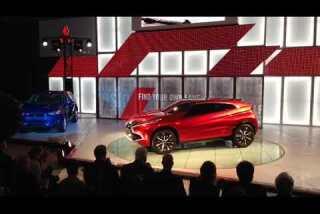 Mitsubishi's tech-savvy concept vehicle: The HR-PHEV