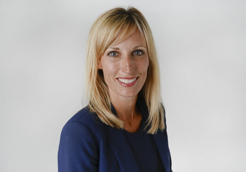 Kristin Gaspar, candidate for San Diego County Board of Supervisors, Third District. |