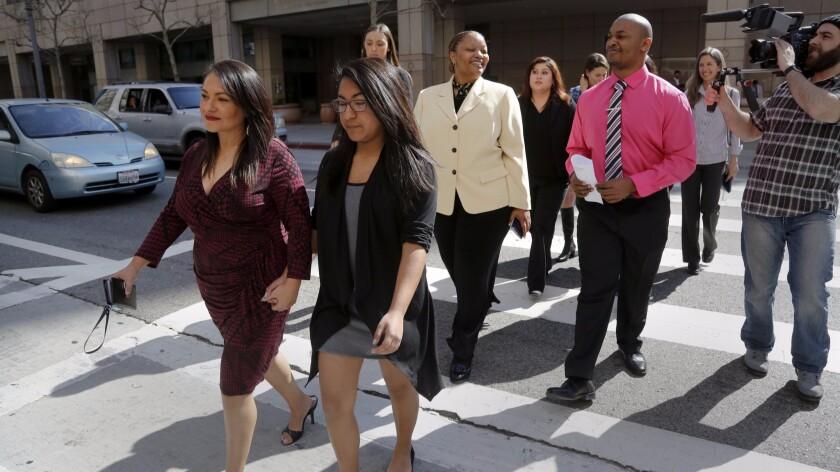 Vergara v. State of California's student plaintiffs