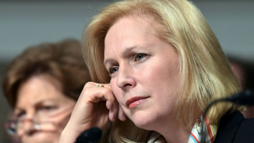 Sen. Kirsten Gillibrand, D-N.Y., has been trying to get a paid family leave bill passed by Congress since 2013.